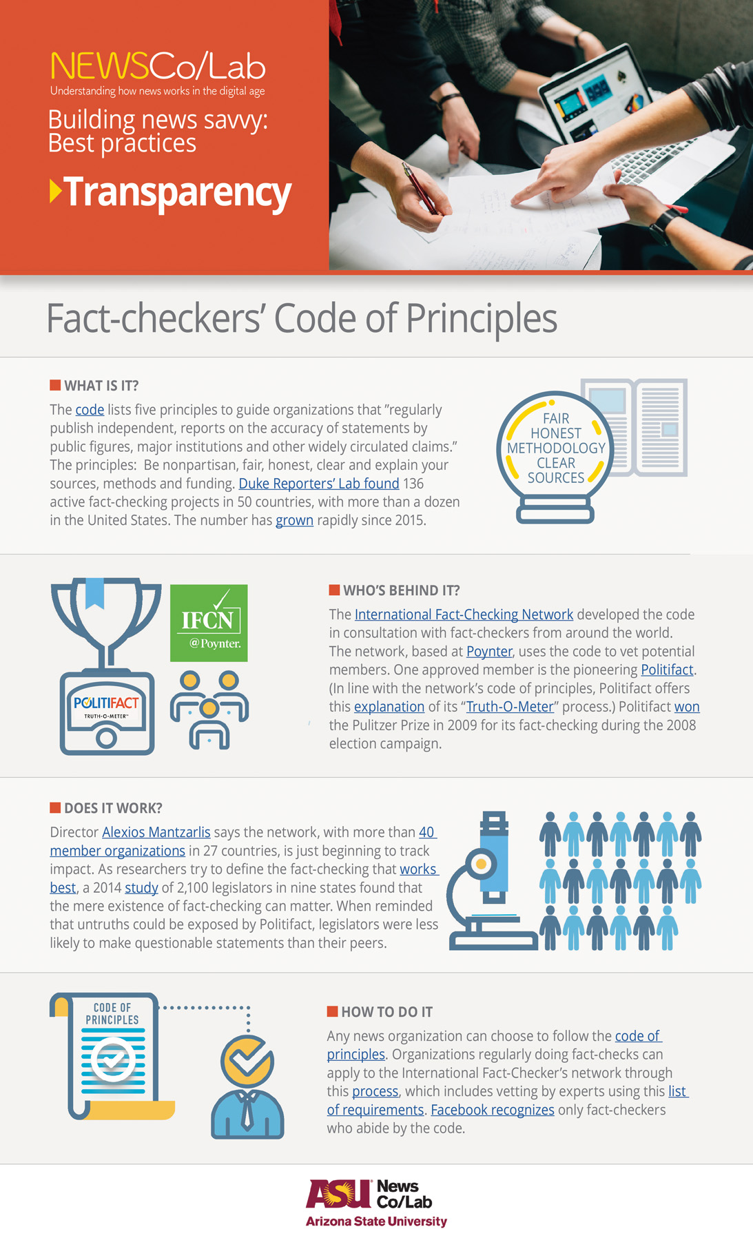 Best Practice: International Fact-Checking Network