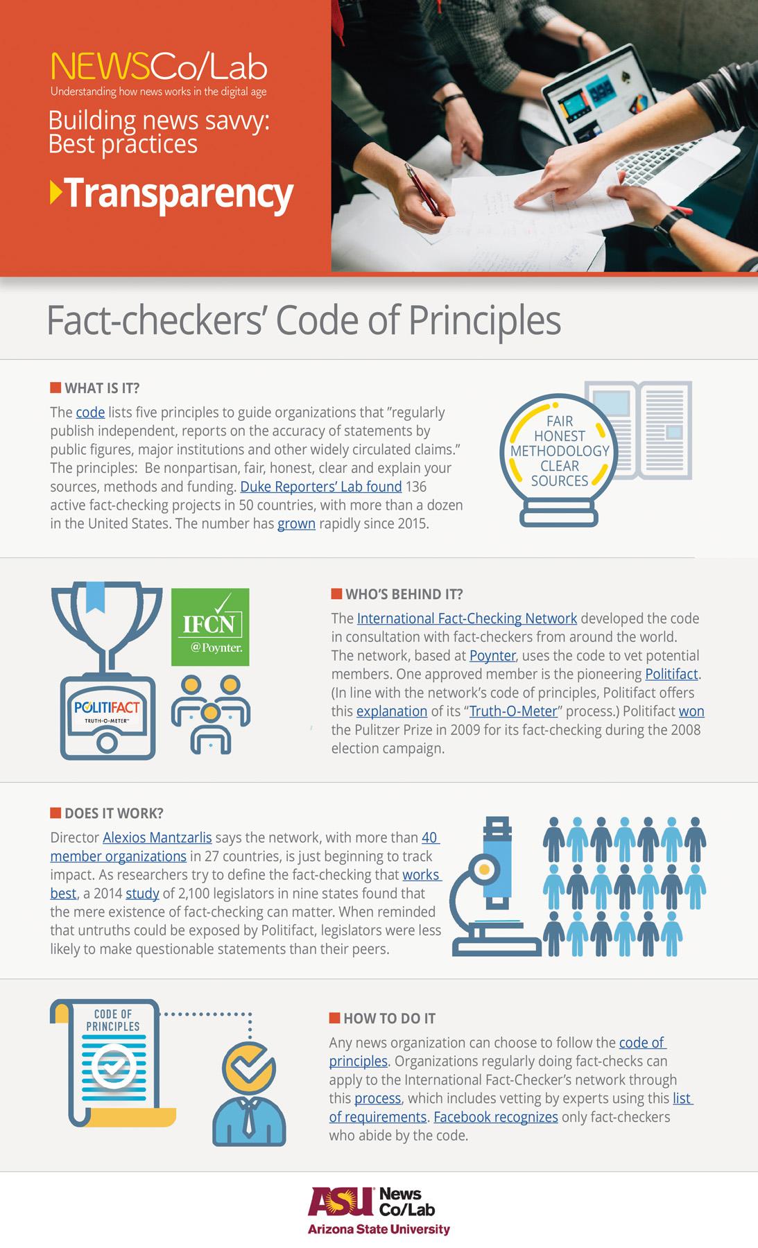 Best Practice: International Fact-Checking Network
