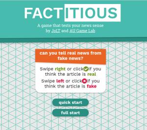 Factitious game