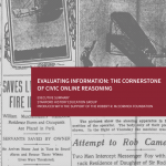 Evaluating Information: The Cornerstone Of Civic Online Reasoning by The Stanford History Education Group