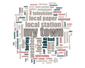 Local News Word Associations