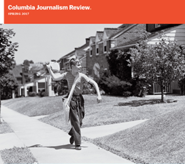 'A journalist should step correct:' Building trust in local news, Columbia Journalism Review