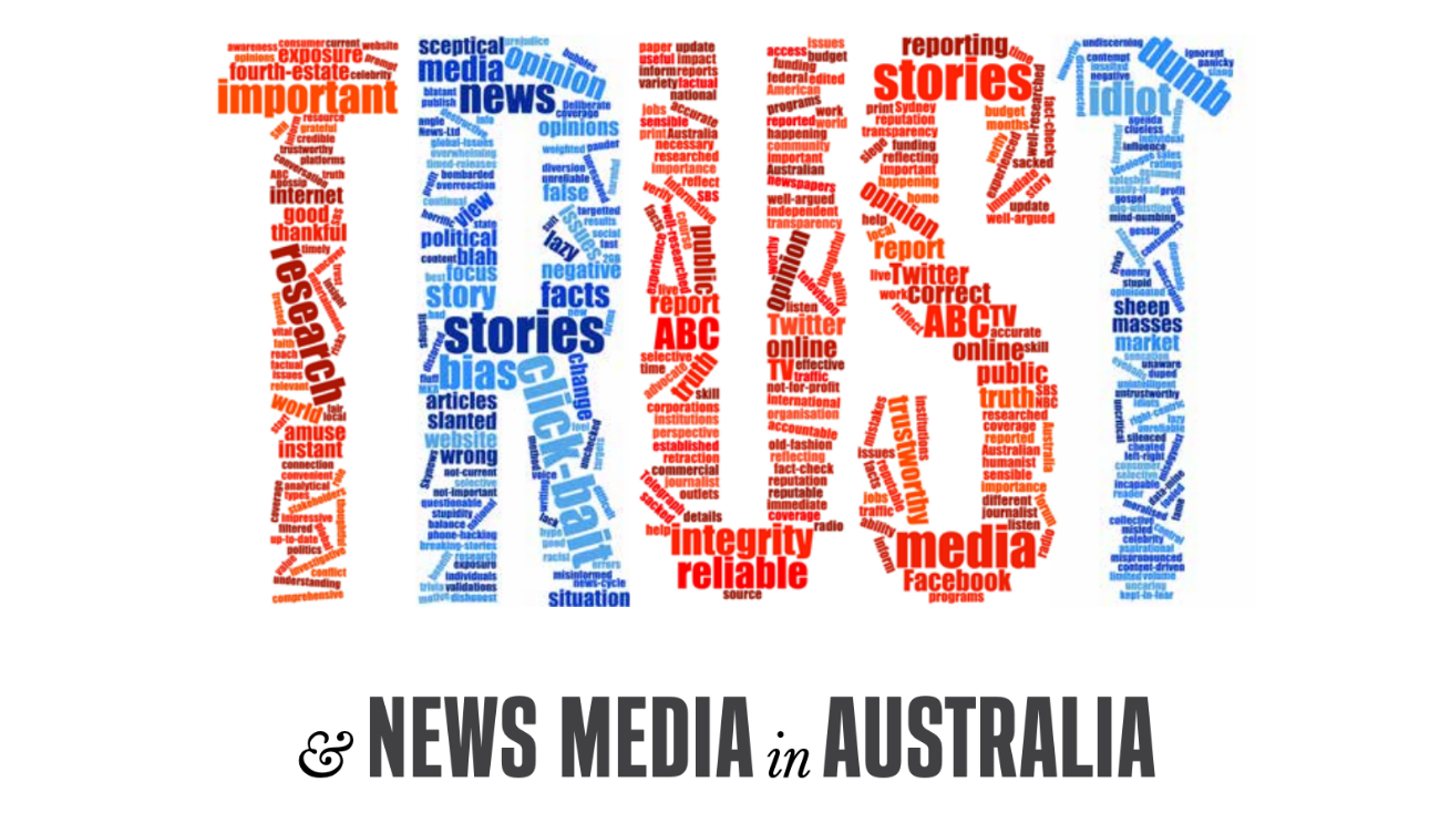 How to restore trust? Look to traditional journalism tenets