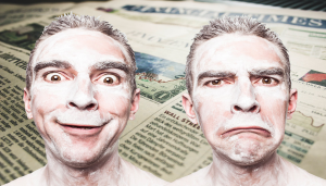 How emotional reactions influence the way audiences understand news